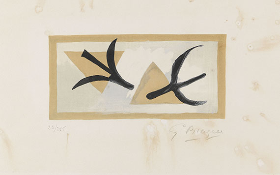 Braque, Georges - Lithografie