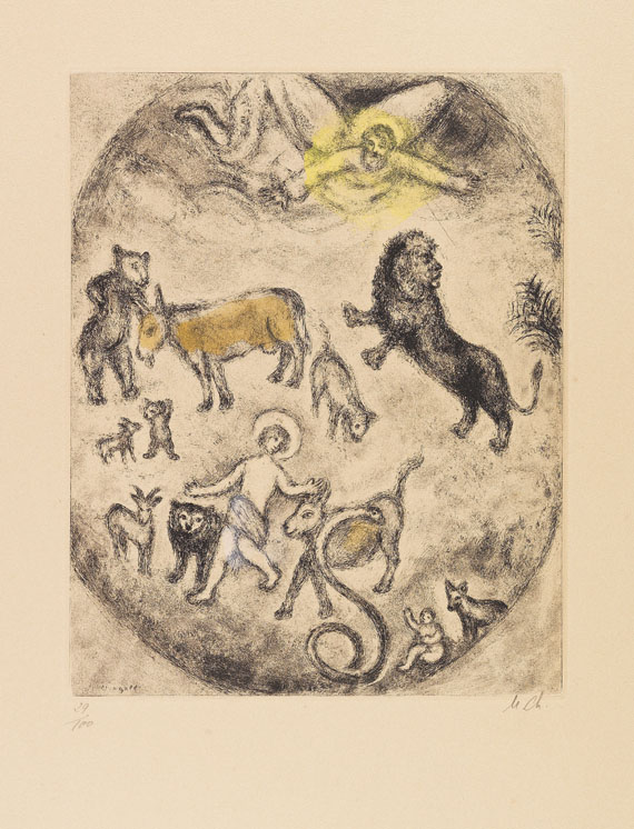 Marc Chagall - Temps messianiques