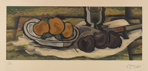 Braque - after, Georges - Farblithografie